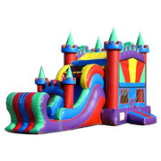 Colorful Castle and Dry Slide