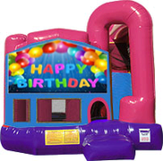 Happy Birthday 3-in-1 Combo w/slide Pink & Purple