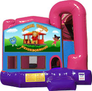 Daniel Tiger 3-in-1 Combo w/slide Pink & Purple