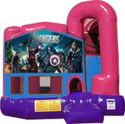 Avengers 3-in-1 Combo w/slide Pink & Purple