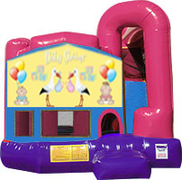 Baby Shower 3-in-1 Combo w/slide Pink & Purple