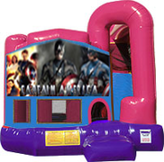Captain America 3-in-1 Combo w/slide Pink & Purple