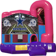 Dallas Cowboys 3-in-1 Combo w/slide Pink & Purple
