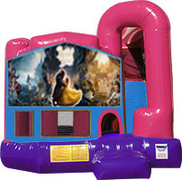 Beauty and the Beast 3-in-1 Combo w/slide Pink & Purple