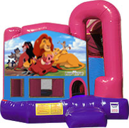 Lion King 3-in-1 Combo w/slide Pink & Purple