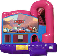 Cars 3-in-1 Combo w/slide Pink & Purple