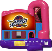 Cavaliers 3-in-1 Combo w/slide Pink & Purple