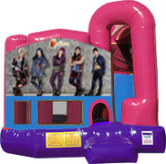 Disney Descendants 3-in-1 Combo w/slide Pink & Purple
