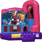 Iron man 3-in-1 Combo w/slide Pink & Purple