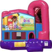 Doc McStuffins 3-in-1 Combo w/slide Pink & Purple