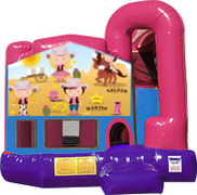 Cowgirls 3-in-1 Combo w/slide Pink & Purple
