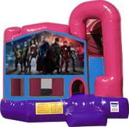 Justice League 3-in-1 Combo w/slide Pink & Purple