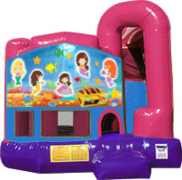 Mermaids 3-in-1 Combo w/slide Pink & Purple