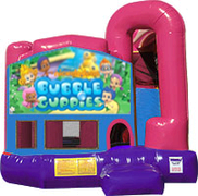 Bubble Gubbies 3-in-1 Combo w/slide Pink & Purple