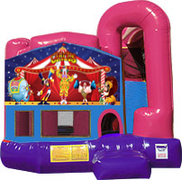 Carnival 3-in-1 Combo w/slide Pink & Purple