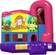 Curious George 3-in-1 Combo w/slide Pink & Purple
