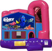 Finding Dory 3-in-1 Combo w/slide Pink & Purple
