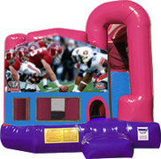 Alabama vs Auburn 3-in-1 Combo w/slide Pink & Purple