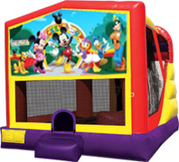 Mickey Mouse Club House 4-in-1 Combo w/ water slide