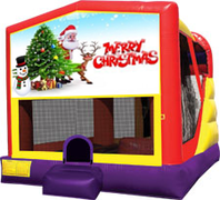 Merry Christmas 4-in-1 Combo w/ water slide
