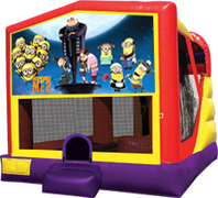 Despicable Me 4-in-1 Combo w/ water slide
