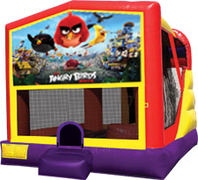 Angry Birds 4-in-1 Combo w/ water slide