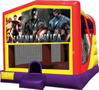 Captain America 4-in-1 Combo w/ water slide