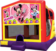 Minnie Mouse 4-in-1 Combo w/ water slide