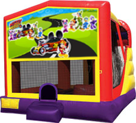 Mickey Mouse Roadster 4-in-1 Combo w/ water slide