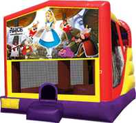 Alice in Wonderland 4-in-1 Combo w/ water slide