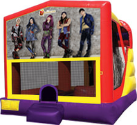 Disney Descendants 4-in-1 Combo w/ water slide