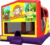 Curious George 4-in-1 Combo w/ water slide