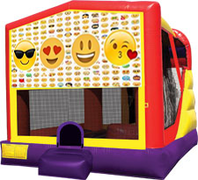 Emoji 4-in-1 Combo w/ water slide