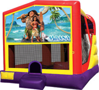 Moana 4-in-1 Combo w/ water slide