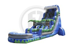 22ft  Blue Crush Tsunami Water Slide
