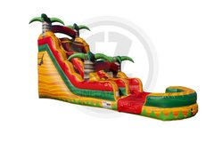 18ft Tropical Fiesta Water Slide
