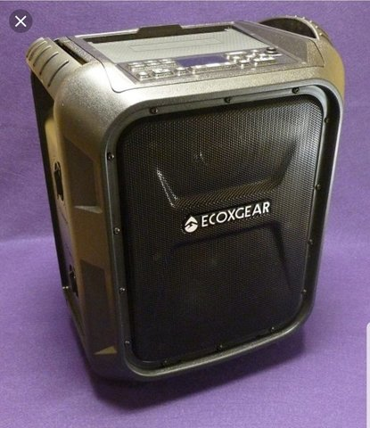 Portable Speaker With Microphone