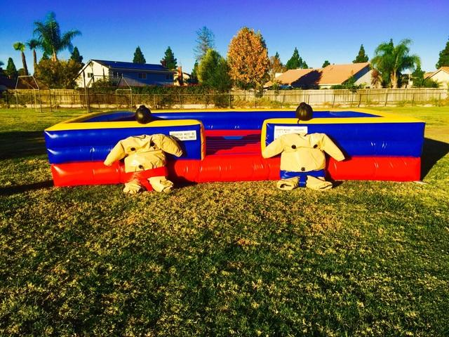 Child Sumo Suits With Inflatable Mat