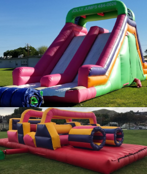 Jolly Obstacle Course (66Ft FUN-Long)