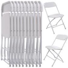 White Plastic Chairs (Bundle Of 50)