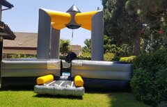Wreckking Ball Inflatable Game (Human Demolition)