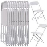 White Plastic Chairs (Bundle Of 40)