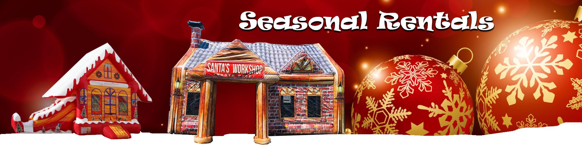 Seasonal Rentals | AZ Jolly Jumpers