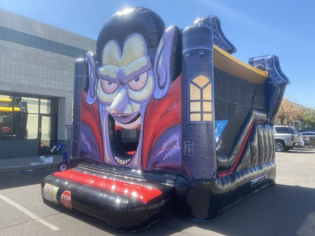 Dracula Bounce house Slide Combo