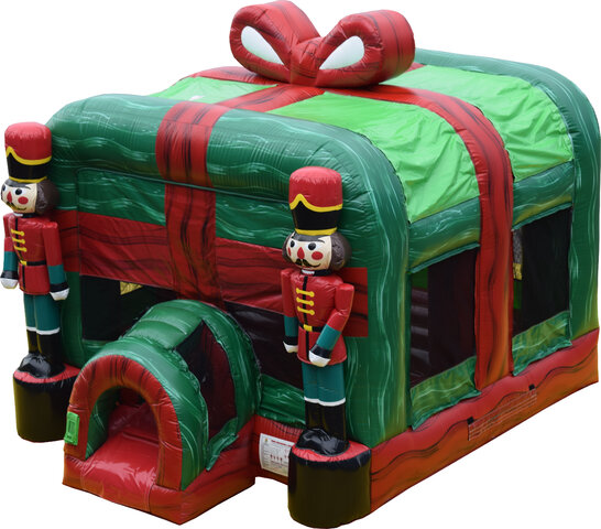 Nutcracker bounce house