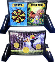 Ring Toss, Darts and Soccer Darts 3 in 1