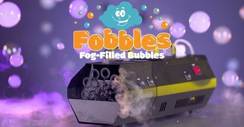 Bubble Fog Machine