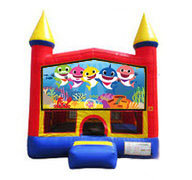 Baby Sharks Bounce House 13x13