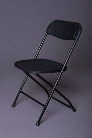 Chairs Black Folding
