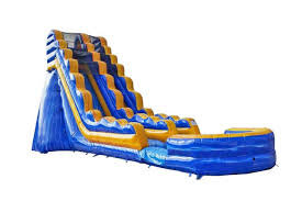 21ft Fire and Ice Water Slide